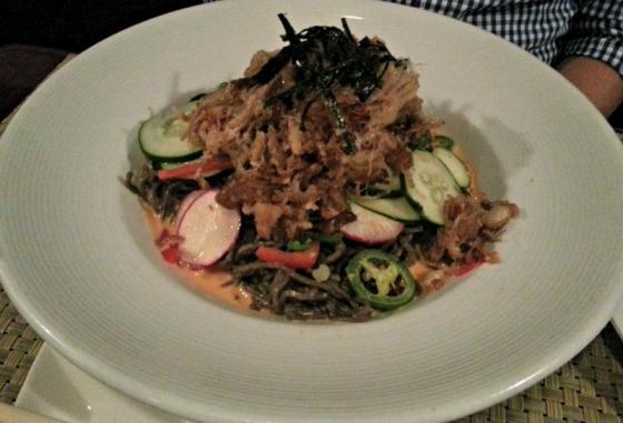 Pork Belly Soba Noodles