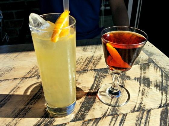 Prizefighter Mezcal Rye Cocktails