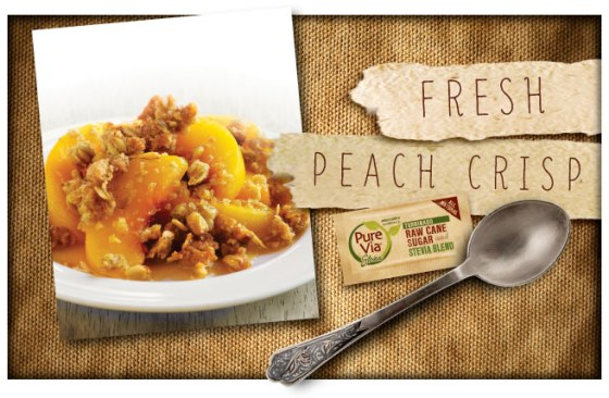 Pure Via Fresh Peach Crisp
