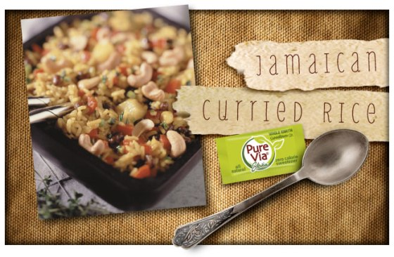 Pure Via Jamaican Curried Rice