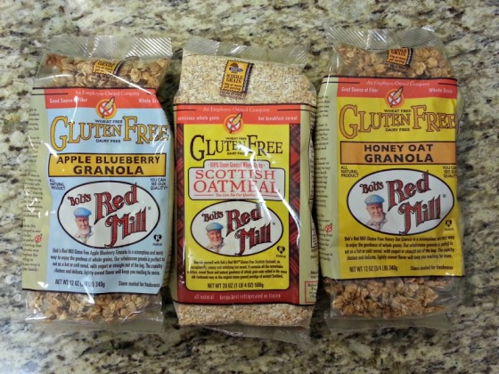 Bobs Red Mill Honey Oat Apple Blueberry Granola Scottish Oatmeal