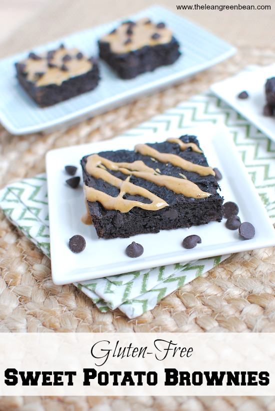 Gluten Free Sweet Potato Brownies The Lean Green Bean
