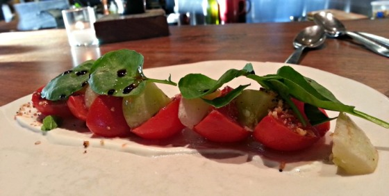 Haven Oakland Tomato Salad