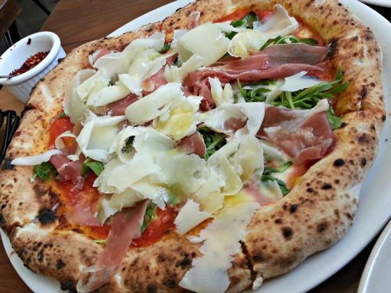 Il Casaro Proscuitto Pizza Parmesan 2