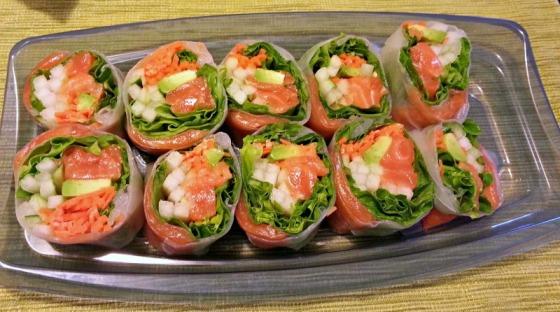 Salmon Sushi Safeway