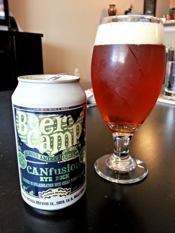 Sierra Nevada Oskar Blues Beer Camp Rye Bock