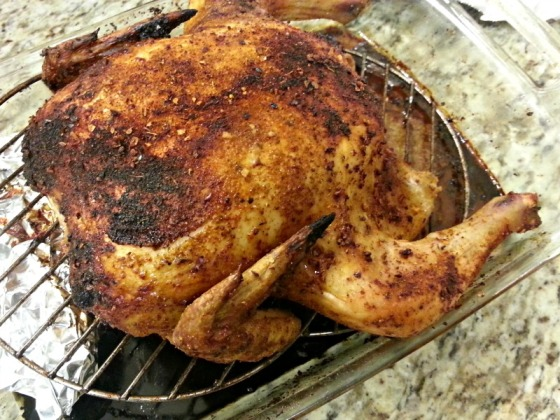 Southwest Roast Chicken