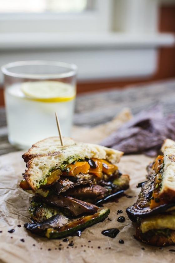 The Ultimate Veggie Sandwich Edible Perspective