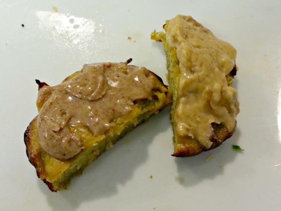 Vega Sport Vanilla Protein Plantain Bread Almond Peanut Butter