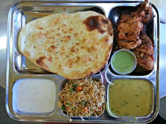 Viks Chaat Tandoori Chicken Naan
