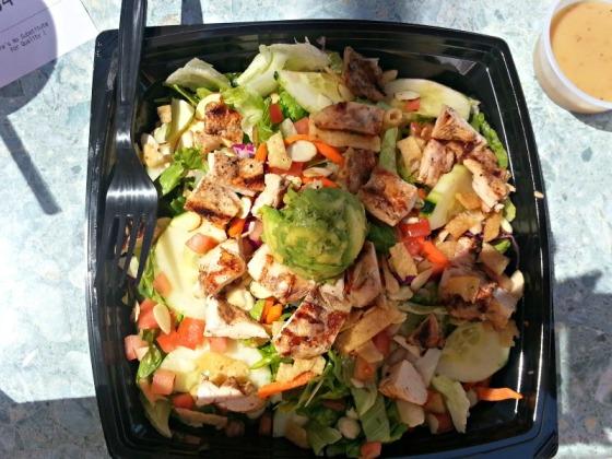 Habit Burger Sesame Almond Chicken Salad