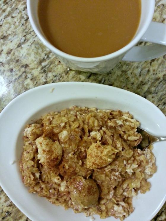 Protein Oatmeal Macadamia Coconut Cashew Almond Butter Coffee