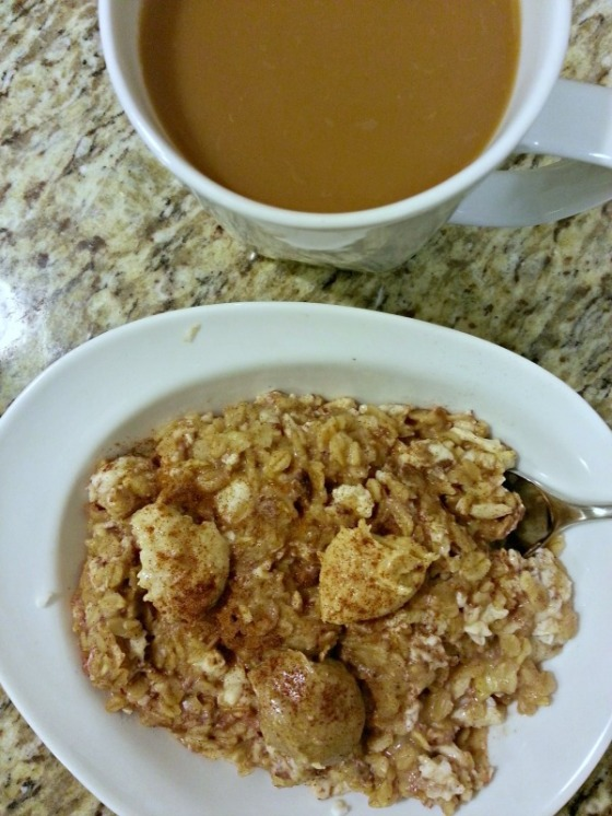 Protein Oatmeal Macadamia Coconut Cashew Almond Butter Coffee