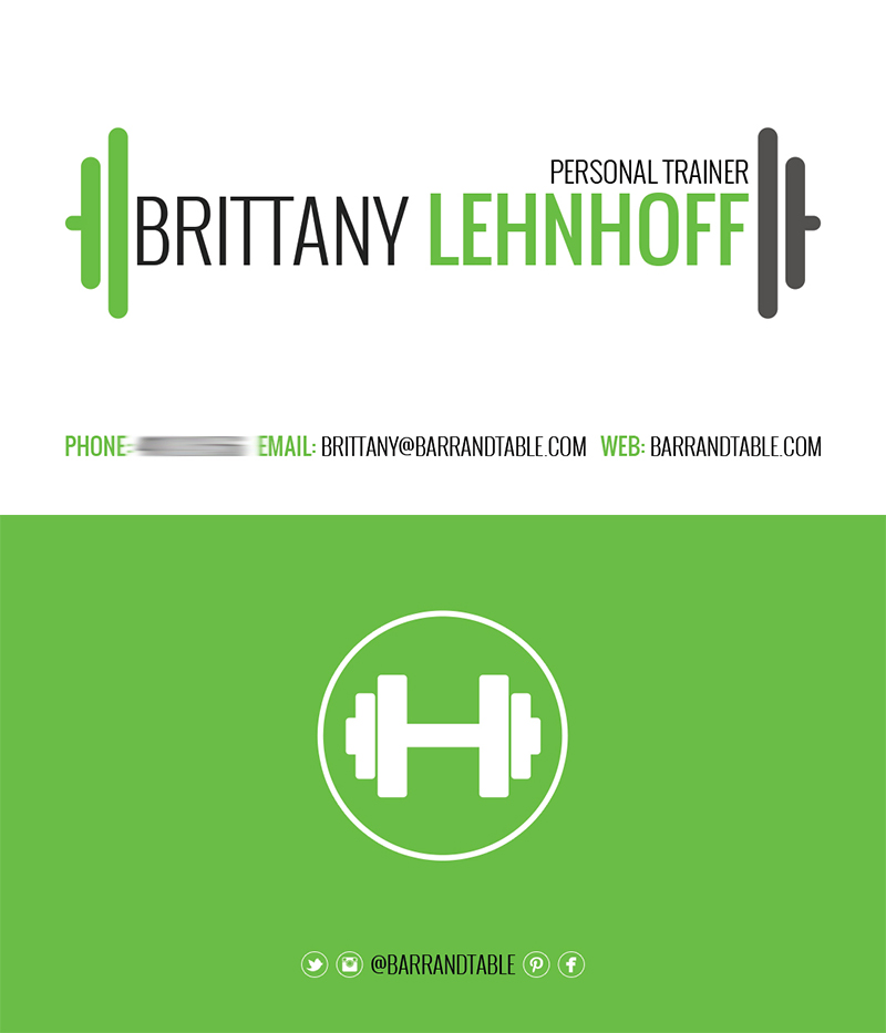 Gallery For Nasm Personal Trainer Business Cards