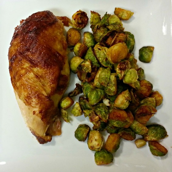 Costco Rotisserie Chicken Maple Sriracha Brussels Sprouts
