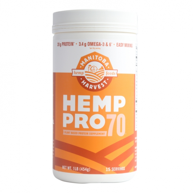 Manitoba Harvest is the world's largest hemp food manufacturer to grow, make and sell their own line of hemp foods. They control every aspect of the production.