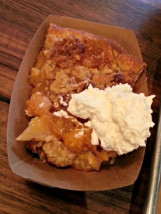 Perdition Smokehouse Peach Pie
