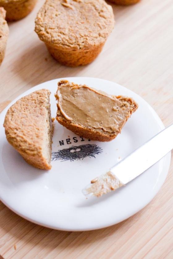 Pumpkin Cornbread Muffins Eating Bird Food