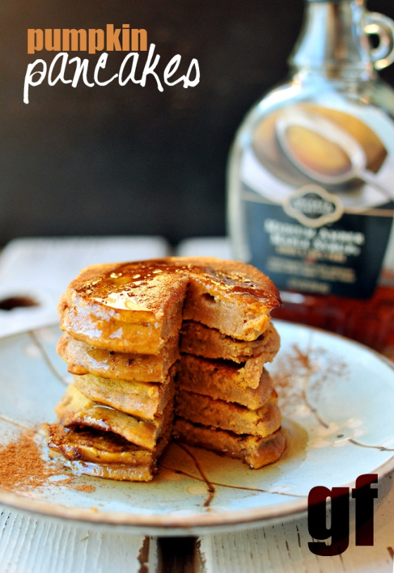 Pumpkin Pancakes Nosh and Nourish