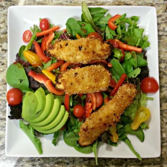 Quinoa Crusted Chicken Strips Half Baked Harvest Avocado