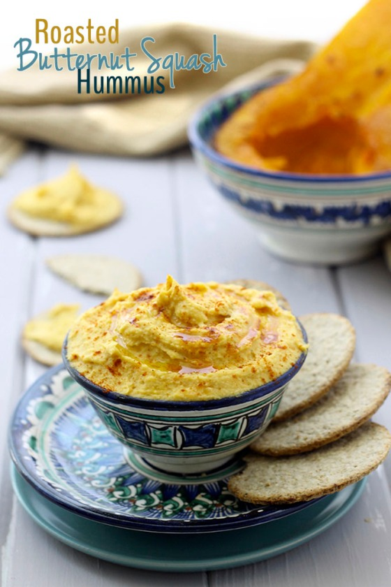 Roasted Butternut Squash Hummus The Healthy Maven