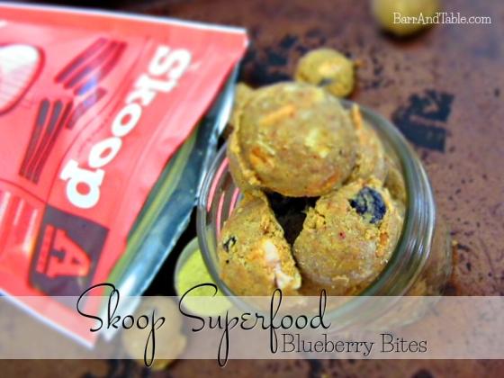 Skoop Superfood Blueberry Bites