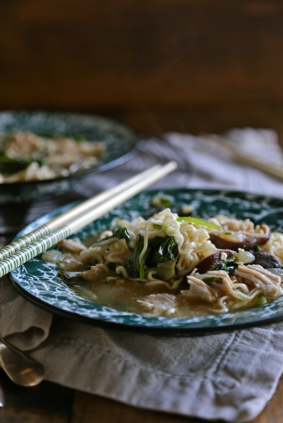 Slow Cooker Japanese Pork and Ramen Soup Country Clever