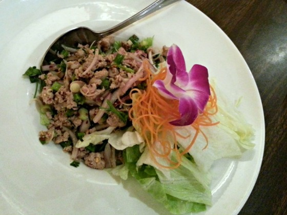 Thai Chicken Larb Salad
