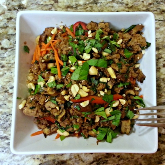 Half Baked Harvest Thai Basil Turkey Lemongrass Cauliflower Rice