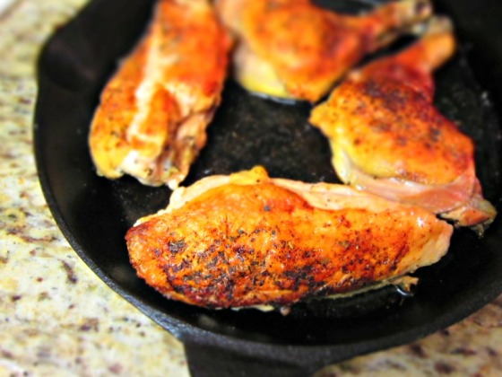 Herbes de Provence Roast Chicken Apricot Orange Gastrique | Barr & Table