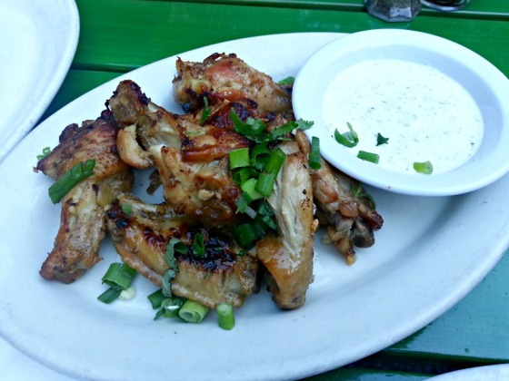 Jupiter Berkeley Baked Garlic Chicken Wings Homemade Ranch