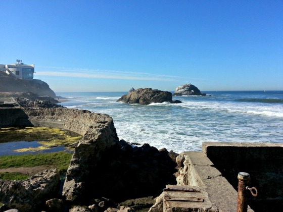 Ocean Beach Sutro Baths San Francisco 2