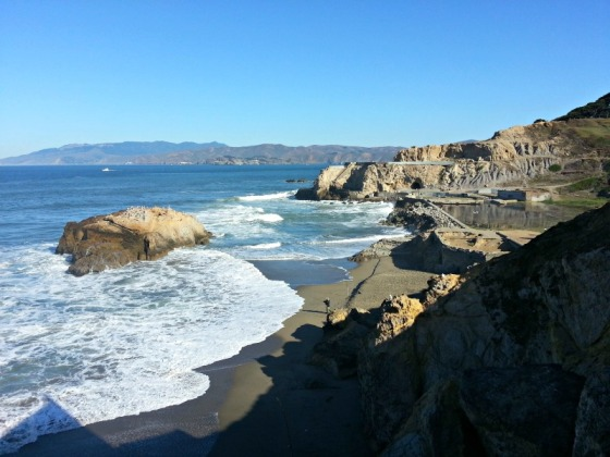 Ocean Beach Sutro Baths San Francisco