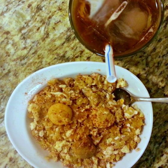 Protein Oatmeal Coffee Almond Peanut Coconut Cashew Butter