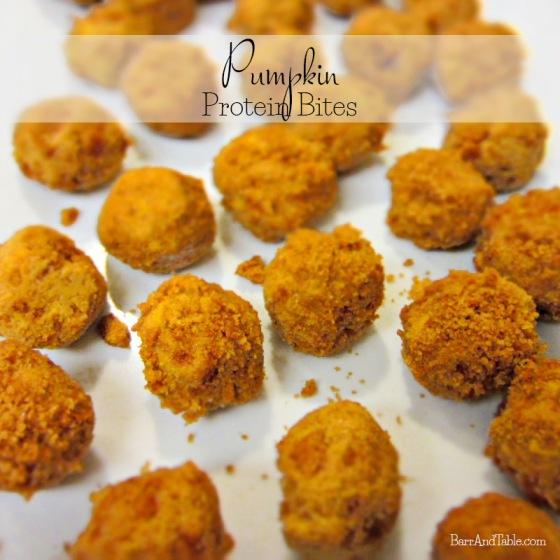 Pumpkin Protein Bites | Barr & Table