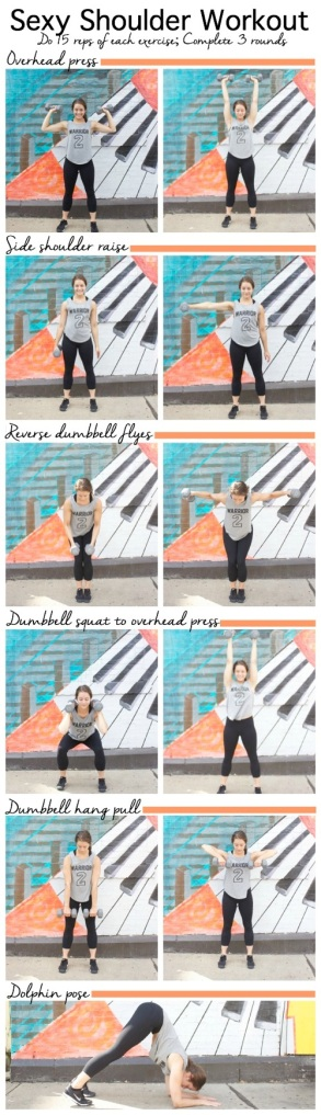 Sexy Shoulder Workout The Almond Eater