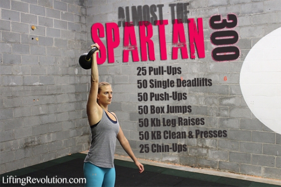 The Spartan 300 Workout Challenge Lifting Revolution