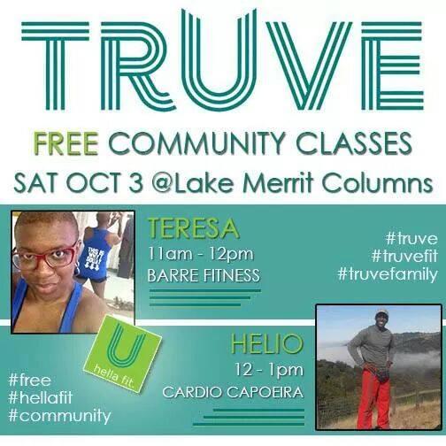 Truve Community Classes Oakland Lake Merritt