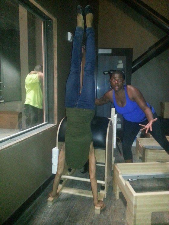 Truve Handstand