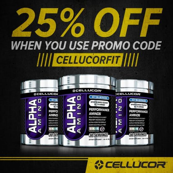 Cellucor Alpha Aminos CELLUCORFIT FitFluential