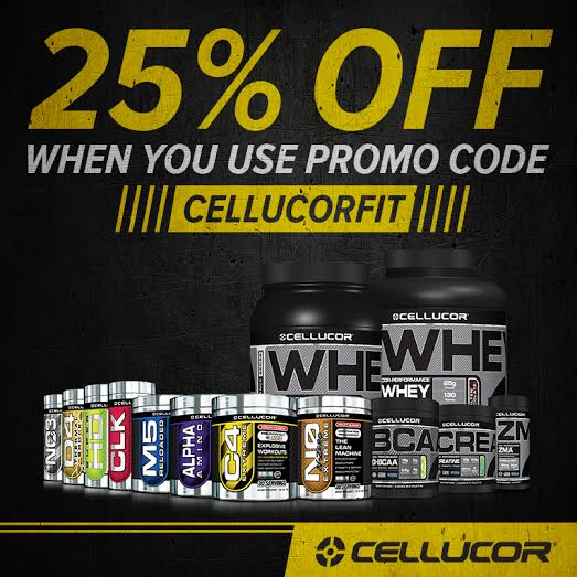 Cellucor Discount Code CELLUCORFIT FitFluential