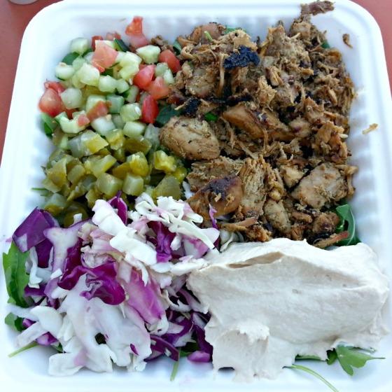 Sajj Food Truck Off the Grid Chicken Shawarma