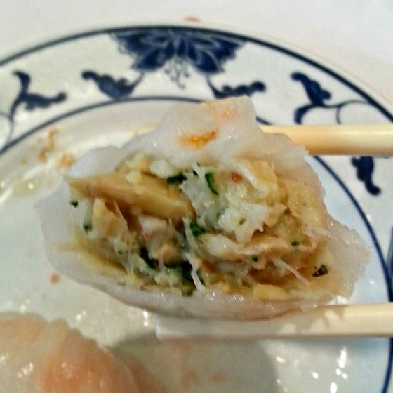 Yank Sing Seafood Basil Siu Mai