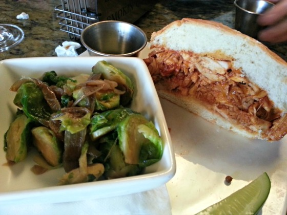 Bounty Hunter BBQ Chicken Brussels Sprouts