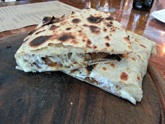 Ca'Momi Porchetta Flatbread Sandwich