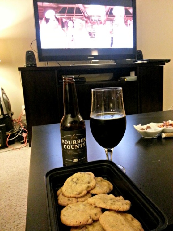 Goose Island Bourbon County Stout NY Times Chocolate Chip Cookies Pixar Ratatouille