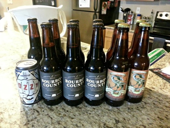 Goose Island Bourbon County Stout Stillwater Stateside Saison Brewers Art Ozzy