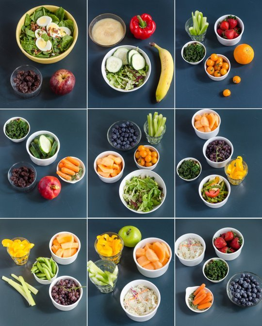 How to eat the gold standard of 7-9 servings of fruits and veggies Run to the Finish