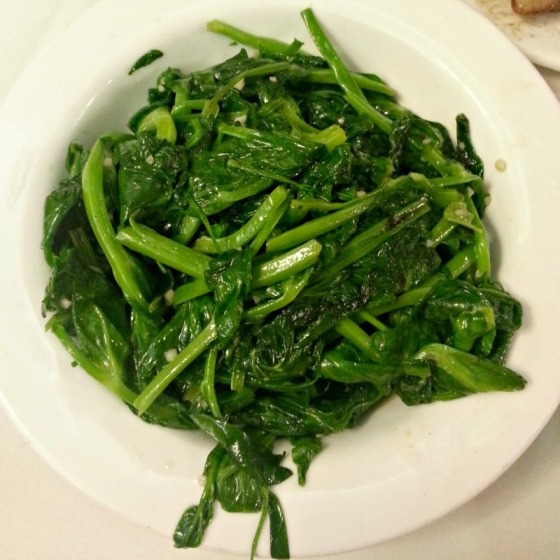 Lai Hong Lounge Garlic Pea Shoots