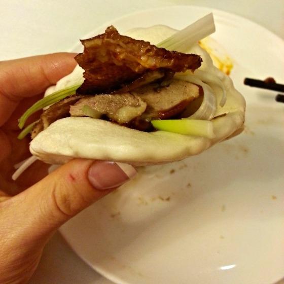 Lai Hong Lounge Roast Peking Duck Roll